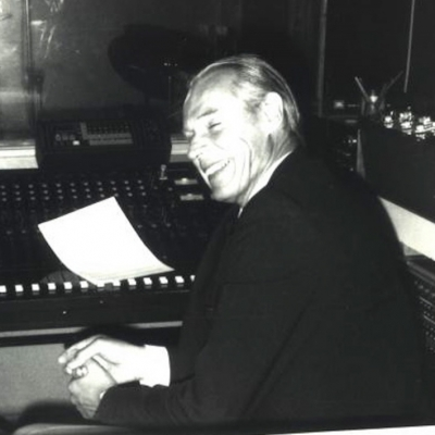 George Martin with Co-Founder Herman Edel Air-Edel