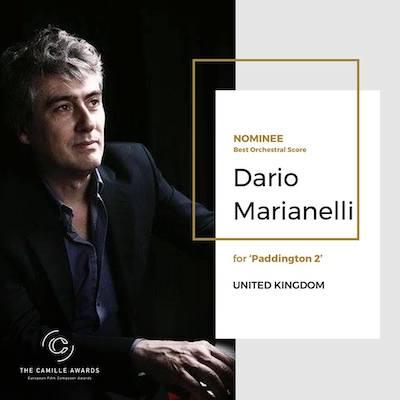 Dario Marianelli Camille Award Air-Edel