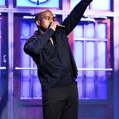 Kayne West Saturday Night Live Air-Edel