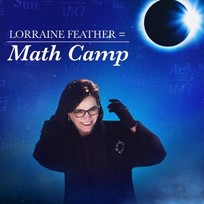 Lorraine Feather Math Camp Air-Edel