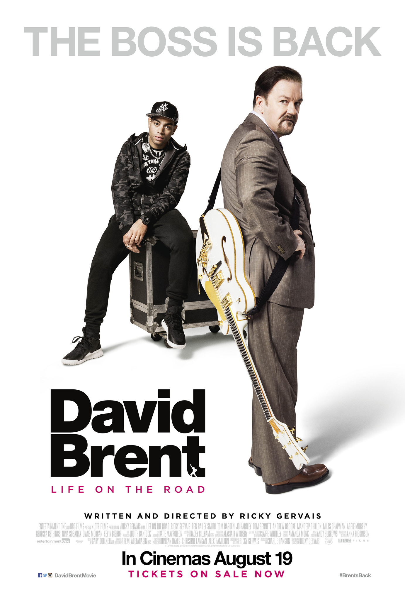 David Brent: Life On The Road Air-Edel