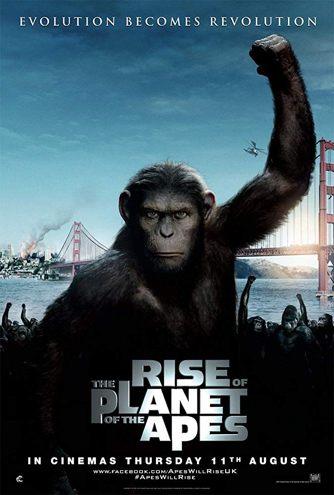 Rise of the Planet of the Apes Air-Edel