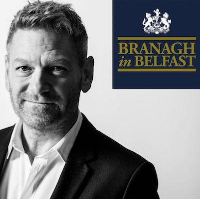 Branagh in Belfast Air-Edel