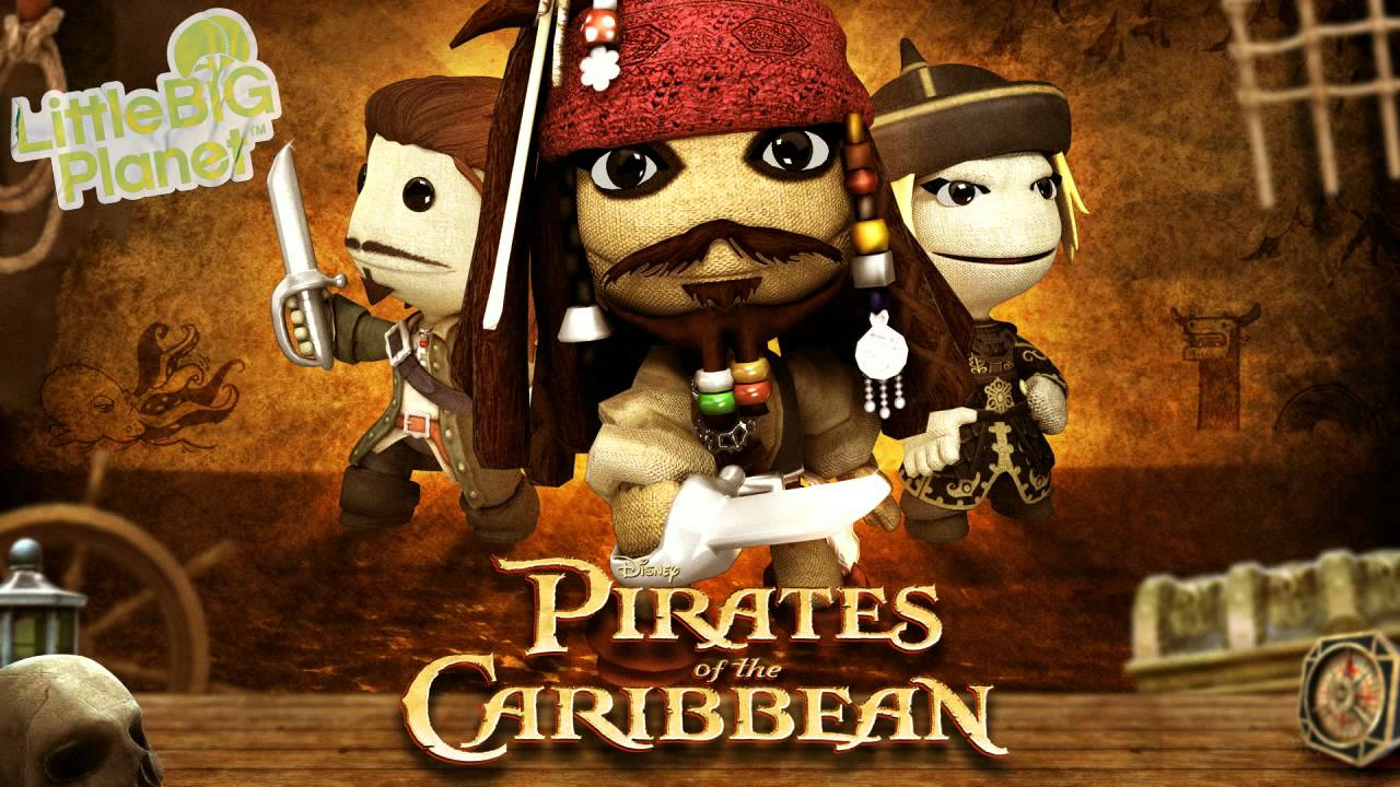 Little Big Planet (Pirates of the Caribbean DLC) Air-Edel