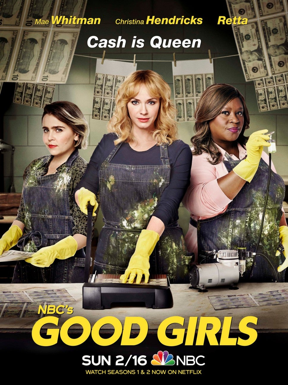 Good Girls - Series 3 Air-Edel