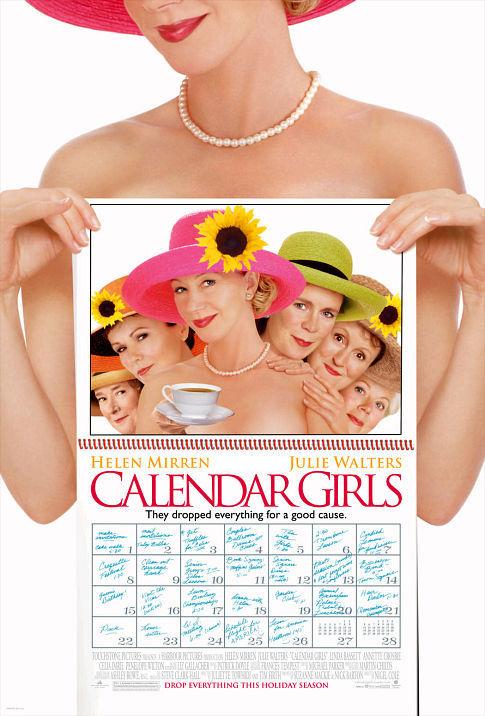 Calendar Girls Air-Edel