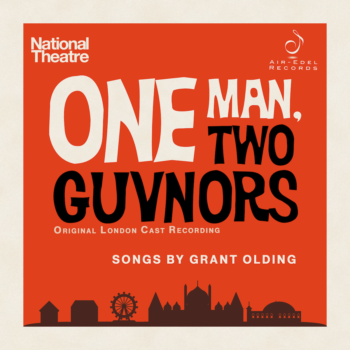 One Man, Two Guvnors Air-Edel